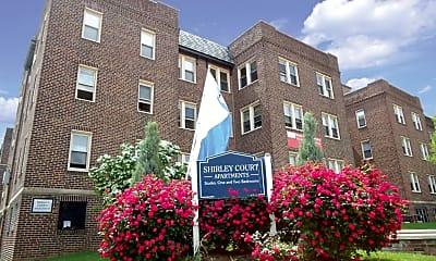 Community Signage, Shirley Court Apartments, 1