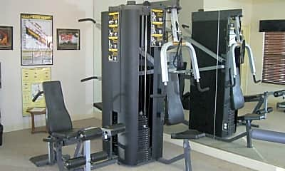 Fitness Weight Room, Stetson Meadows, 1