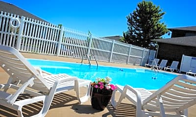 Pool, Cambridge Park Apartments, 1
