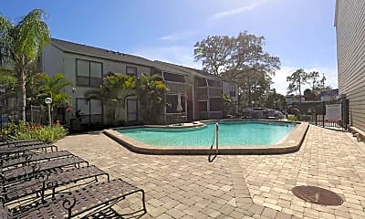 Pool, River Place Apartments, 1