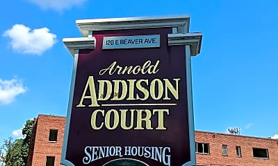Arnold Addison Court, 1