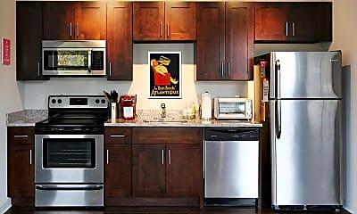 Kitchen, Evergreen at Werthan, 1