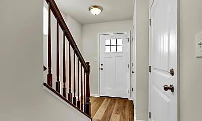 Foyer, Entryway, Lexington Townhomes, 2