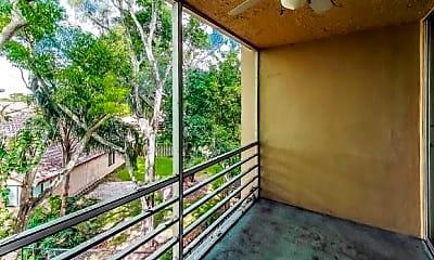 Patio / Deck, 9470 Live Oak Pl 304, 2