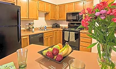 Kitchen, Monterey Apartments, 1