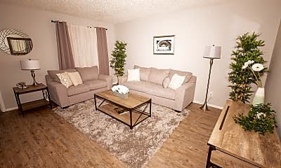 Living Room, San Remy Apartments, 0