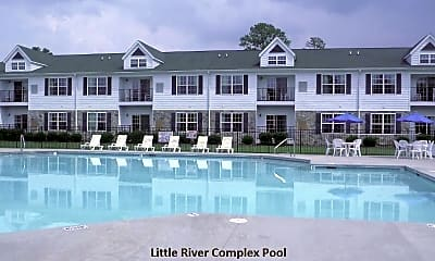 Pool, 511 Little River Farm Blvd A205, 2