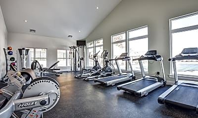 Fitness Weight Room, Reynolds Farm, 2