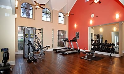 Fitness Weight Room, The Haven, 1