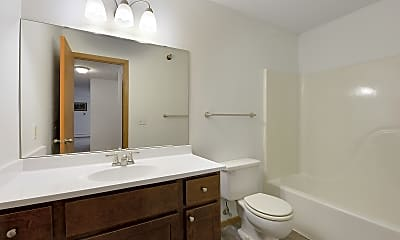 Bathroom, Pine Point Apartments, 2