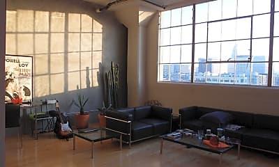 Living Room, 420 San Pedro St 506, 1