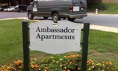 Community Signage, Ambassador Apartments, 2