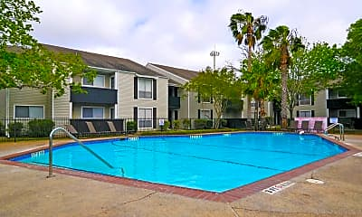 Pool, Towne Oaks, 0