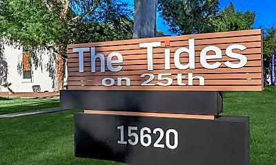 Community Signage, Tides on 25th, 2