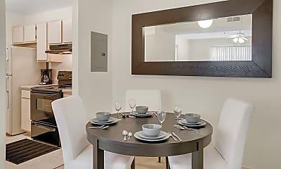 Dining Room, Aspen Ridge Apartments, 1