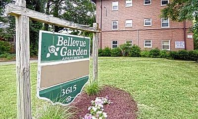 Community Signage, Bellevue Garden Apartments, 2