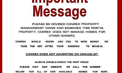 Community Signage, 6001 Neill Dr, 1