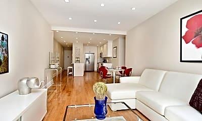 Living Room, 775 Riverside Dr 3D, 1