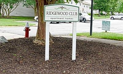 Community Signage, Ridgewood Club, 2