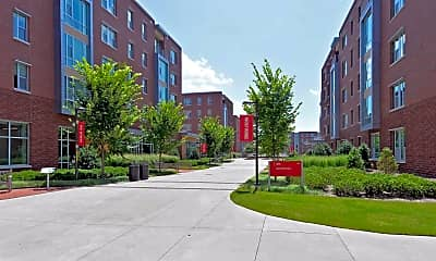Building, Wolf Ridge at NC State, 2