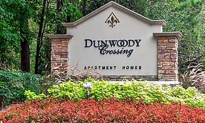 Community Signage, Dunwoody Crossing, 2