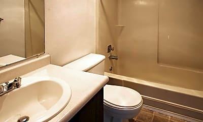Bathroom, Meridian West Apartments, 2