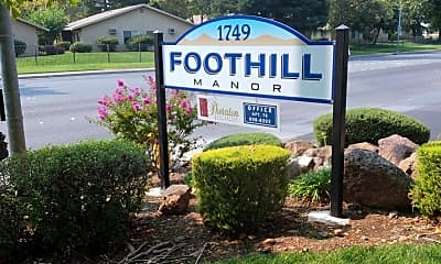 Foothill Manor Townhomes, 1