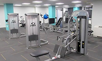 Fitness Weight Room, Bancroft On The Grid, 2