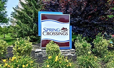 Community Signage, Spring Crossings, 2