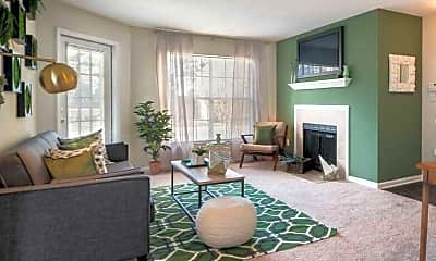 Living Room, The Waterford Apartment Homes, 1