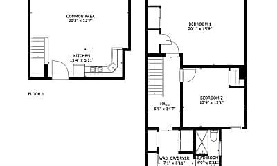 Bedroom, 1129 S Broad St, 2