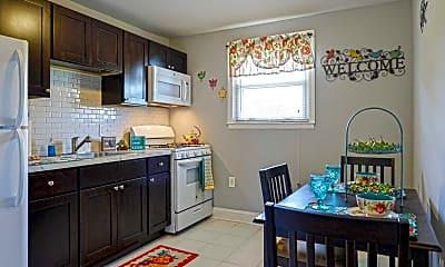 Kitchen, Blackwood Terrace, 1