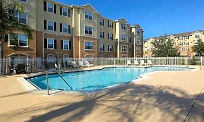 Pool, Silver Pointe Senior Housing, 0