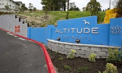 Community Signage, Altitude Apartments, 2