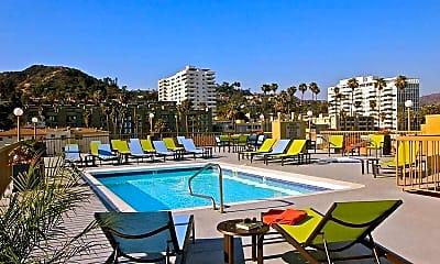 Pool, Sutton Place Apartments, 0