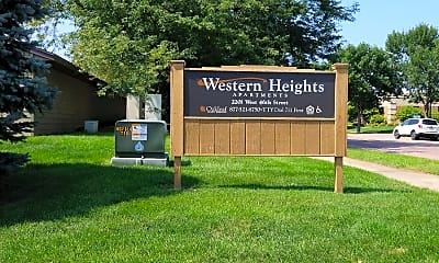 Western Heights Apartments, 1