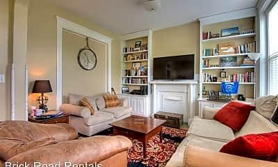 Living Room, 1721 Hanover Ave, 1