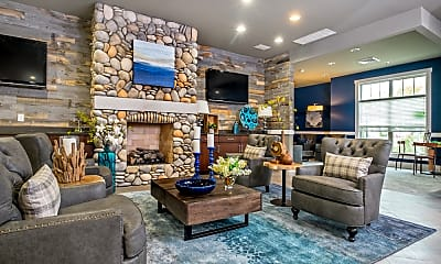 Living Room, Prairie Lakes Apartments Of Noblesville, 0