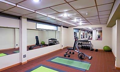 Fitness Weight Room, Arbor Hills, 2