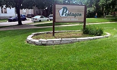 Pentagon Apartments, 1