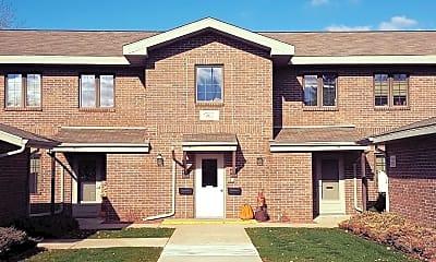 Building, Fox Shores Apartments, 1
