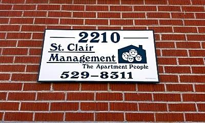 St Clair Apartments, 1