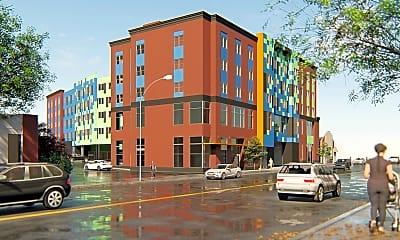 Rendering, Swinburne Building, 2