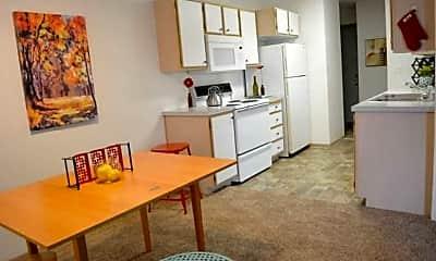 Dining Room, Cornerstone Apartments, 1