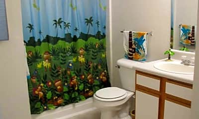 Bathroom, Pebble Brooke Apartments, 2