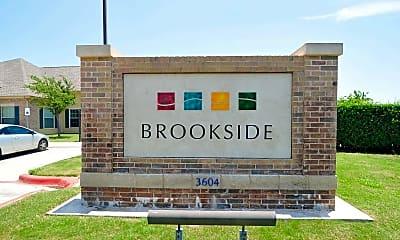 Community Signage, The Brookside Apartments, 2