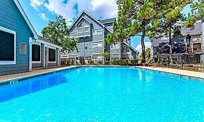 Pool, Pine Lake Village, 1