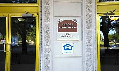 Aurora Apartments, 1