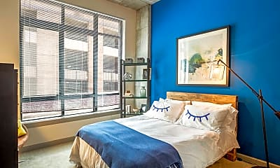 Bedroom, Union Wharf Apartments, 1