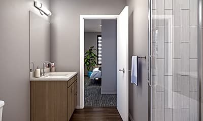 Bathroom, The Link- Per Bed Lease, 2